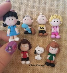 64 new ideas for craft clay miniatures Polymer Clay Figures, Cute Polymer Clay, Cute Clay, Polymer Clay Dolls, Polymer Clay Miniatures, Polymer Clay Projects, Polymer Clay Charms, Clay Crafts, Polymer Clay People