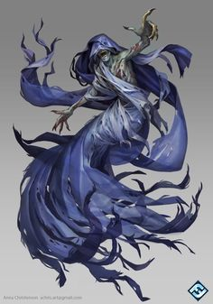 Battlelore Wraith, Anna Christenson on ArtStation at https://www.artstation.com/artwork/battlelore-wraith