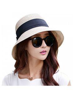 2a7afb25b74 Womens UPF50 Foldable Summer Sun Beach Straw Hats accessories Wide Brim -  69087 beige3 - CD12E73Y6YX