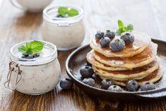 Banana Oat Pancakes, Banana Oats, Protein Pancakes, Easy Healthy Breakfast, Breakfast For Kids, Breakfast Recipes, Breakfast Ideas, Kefir, Unislim Recipes