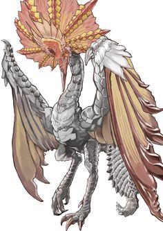 Monster Hunter Cat, Monster Hunter Series, Fantasy Monster, Monster Art, Creature Concept Art, Creature Design, Mythical Creatures Art, Fantasy Creatures, Dragon Pictures