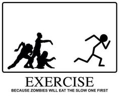 Zombies   ...YIKES! I was afraid of that. lol