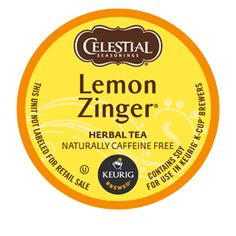 Lemon Zinger® Herbal Tea - Keurig.com