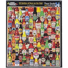 White Mountain Puzzles 1000-Piece Jigsaw Puzzle, 24 by 30-Inch, 99 Bottles of Beer on The Wall White Mountain Puzzles http://www.amazon.com/dp/B00JLO7V6C/ref=cm_sw_r_pi_dp_YPecvb0JDZXNZ
