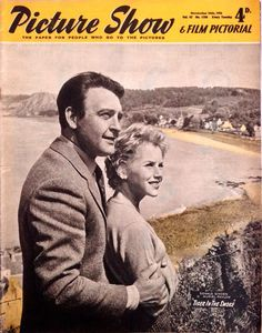 Picture Show & Film Pictorial, November 1956. (Donald Sinden and Muriel Pavlow in Tiger In The Smoke)