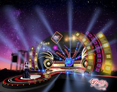"""Check out my @Behance project: """"STAGE DESIGN KONSER GOYANG SUTRA ANTV"""" https://www.behance.net/gallery/47227185/STAGE-DESIGN-KONSER-GOYANG-SUTRA-ANTV"""