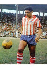 Prueba de que Garrincha si jugó en Colombia. (Junior, 1 partido)