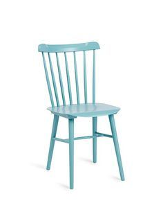 Serena & Lily's painted-wood Tucker chair, a colorful twist on the Windsor, is an easy way to brighten up the kitchen. What's more, it can hold its own in other rooms of the house should you need extra seating; $188. serenaandlily.com
