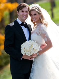 Ivanka Trump's Wedding Dress! It was a custom Vera Wang! I want a Vera Wang wedding dress that looks like this!! I want to design my gown! Without a doubt!