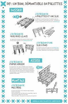 Diy Furniture Couch How To Make - New ideas Pallet Garden Furniture, Pallets Garden, Pallet Furniture Designs, Small Backyard Patio, Diy Patio, Small Balcony Decor, Diy Pallet Projects, Pallet Bench Diy, Pallet Decking