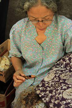 Plentong Batik Factory, Jogjakarta / Yogyakarta, Java, Indonesia