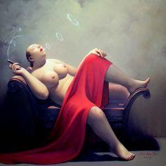 Liu Baojun Chinese Artist by lilikk, via Flickr
