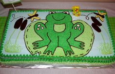 Frog Cake by Nancy Mercer