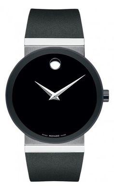 jared movado® men s watch sapphire™ 606307 men s fashion movado sapphire men s black pvd watch black rubber strap