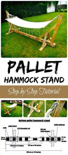 Pallet Hammock Stand - 150 Best DIY Pallet Projects and Pallet Furniture Crafts . Pallet Hammock Stand - 150 Best DIY Pallet Projects and Pallet Fur. Used Pallets, Recycled Pallets, Wooden Pallets, Plastic Pallets, Wooden Pallet Crafts, Recycled Wood, Wood Crafts, Diy Pallet Furniture, Diy Pallet Projects