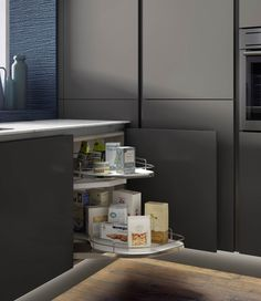 Kitchen storage CGI photography
