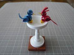 クイリング- bird quilling