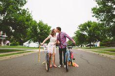 bikes make a portrait so fun + playful
