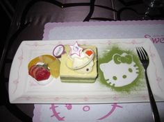 Hello Kitty Sweets: tea set