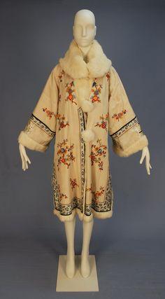 Coat,    1920s,    Whitaker Auctions | More on the myLusciousLife blog: www.mylusciouslife.com