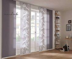 schiebe gardine im modernen design f r die k che http. Black Bedroom Furniture Sets. Home Design Ideas
