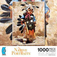 Puzzle - Native American Boy