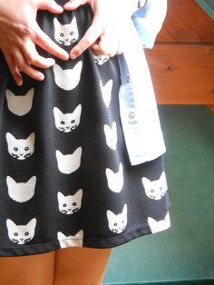 Les selfies de Pauline Moi Non Plus: I love Cat #cat #catdress #ootd
