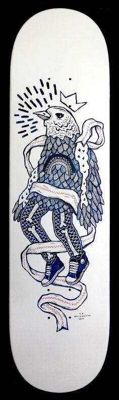 Pen & Ink by Bruce Mackay, via Behance