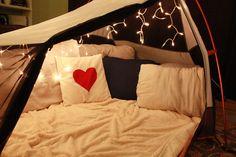 living room romantic escape