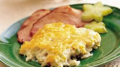 """Make it ahead"" are the magic words that let you get a jumpstart on meals.  Add this potato bake to your favorite make-ahead recipes."