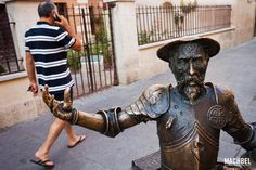 Don Quijote Viaje de un día en Alcalá de Henares Madrid España Spain
