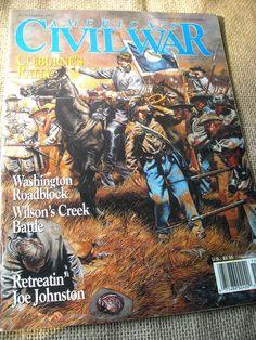 America's Civil War Magazine Cleburnes Rally  Washington Roadblock  Nov 1993