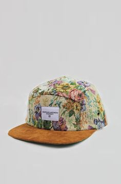 Multi-Flora 5 Panel w/ Suede Brim by Profound Aesthetic