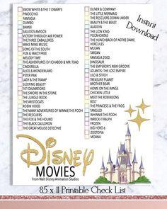 Disney film Checklist - Walt Disney film Watch liste - téléchargement - films d'animation - movies to watch - Movie To Watch List, Disney Movies To Watch, Film Watch, Movie List, Walt Disney Movies List, Best Disney Movies, Netflix Movies To Watch, Walt Disney Animated Movies, Every Disney Movie