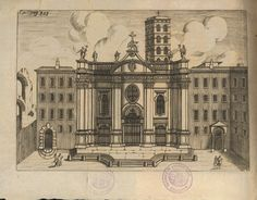 Basilica di Santa Croce in Gerusalemme #roma #basilica #settechiese #illustrazione Big Ben, Louvre, Antiques, Building, Travel, Painting, Art, Rome, Italy