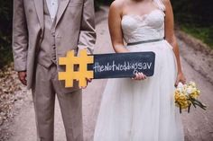 18 wedding hashtag ideas | Kayla's Five Things