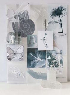 Transparency mood board ideas. Great for a light environment. See more at: http://www.brabbu.com/en/inspiration-and-ideas/