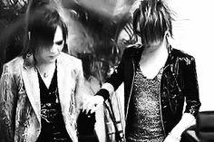 Kai and Reita. The GazettE -- In which Kai thought he was dying. xD