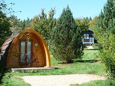 Les pods - Village des Monédières
