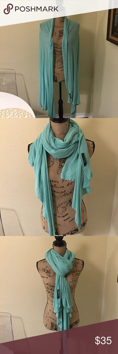 BCBGmaxazria scarf This color is amazing. Love this so much. Lightweight and can be styled so many ways. BCBGMaxAzria Accessories Scarves & Wraps