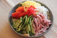 <p>Hiyashi Chuka or Reimen are cold Chinese style noodles with a sweet tangy sauce. Hiyashi Chuka is served at Ramen restaurants in Japan only during summer. Chuka Men (中華麺), wheat flour noodles that are the same kind in Ramen, are used in Hiyashi Chuka. The light and refreshing taste of …</p>
