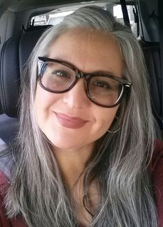 Long silver gray hair. Grey hair. White hair. Granny hair. Salt and pepper gray. Natural grey hair inspiration. Beautiful women with grey hair. Showing that age is just a number. hair. No dye. Dye free. Aging and going gray gracefully.