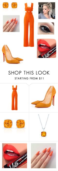 """""""Untitled #2460"""" by vanessa898 ❤ liked on Polyvore featuring Karina Grimaldi and Fiebiger"""