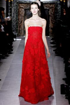 Valentino Couture. Repin your favorite #NYFW looks to get them from the Runway to #RTR!