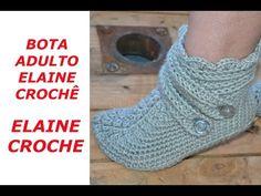 Tutorial Botas Crochet o Ganchillo Booties - YouTube