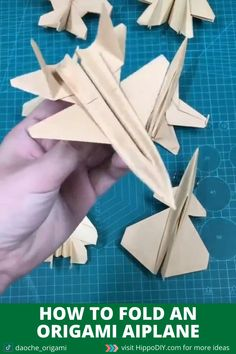 Do you have this model in your orgiami airplane collection. Visit my website for more models. Origami Airplane, Instruções Origami, Paper Crafts Origami, Paper Airplane Folding, Origami Paper Plane, Paper Airplane Models, Airplane Crafts, Origami Boxes, Dollar Origami