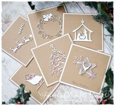 Handmade by Monia: Christmas cards