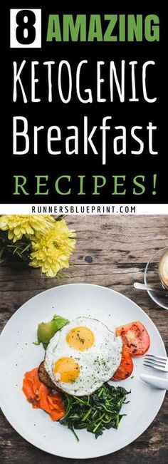 here are some of my favorite low carb ketogenic breakfast recipes to make in the morning that also happen to be delicious #keto #diet #breakfast #recipes