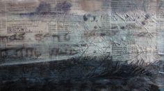 Historias Cruzadas... arte para bufandas... por OnA