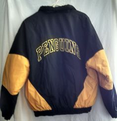 4faec2485 15 Best Pittsburgh Penguins Hockey NHL fan starter jacket images ...